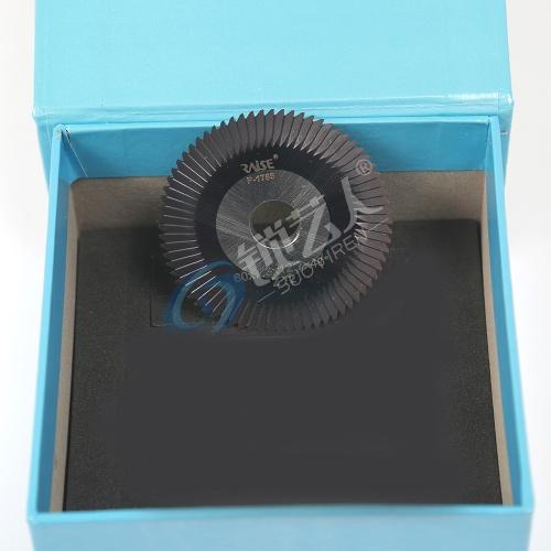锐正黑金刚套装铣刀HJ0010 编码P-1765 φ60x7.3xφ12.7x72Tx40°适用于 文兴233,283,217,100,JZ-300,283-D,232等